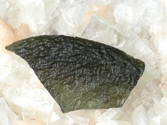 moldavite big sharp