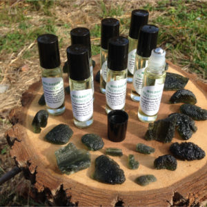 super moon moldavite meditation oil