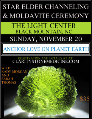 moldavite ceremony