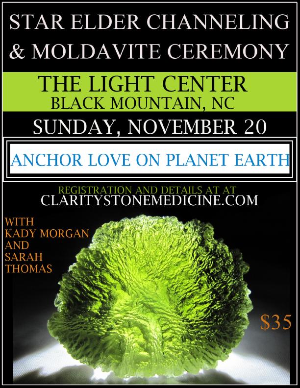 moldavite ceremony