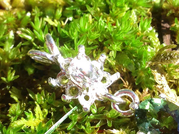 Faceted moldavite phenacite pendant 925 silver moldavite life phenacite moldavite pendant aloadofball Gallery